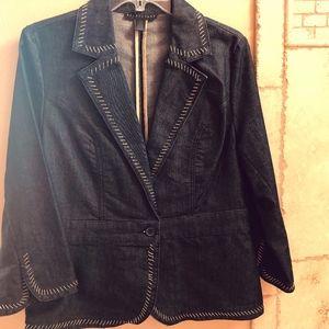 Women's size 10 denim blazer